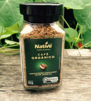 Café orgánico Native instantáneo