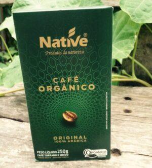 Café orgánico Native grano molido