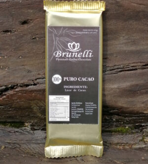 Chocolate Brunelli 100% cacao