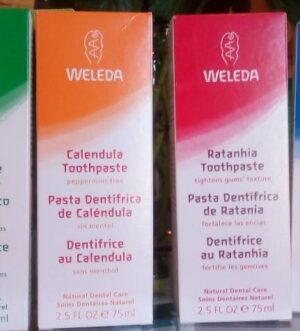 Pasta de dientes Weleda