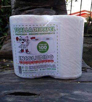 Toalla de papel Incoludido